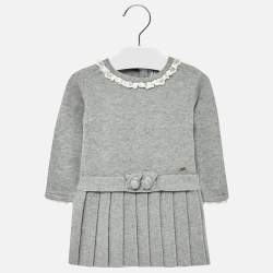 Mayoral knitted grey dress