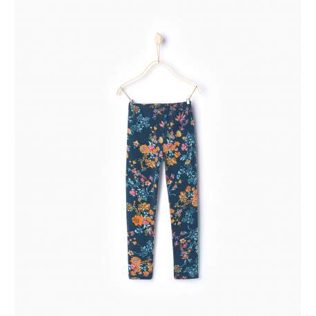 ZARA leggings with flowers