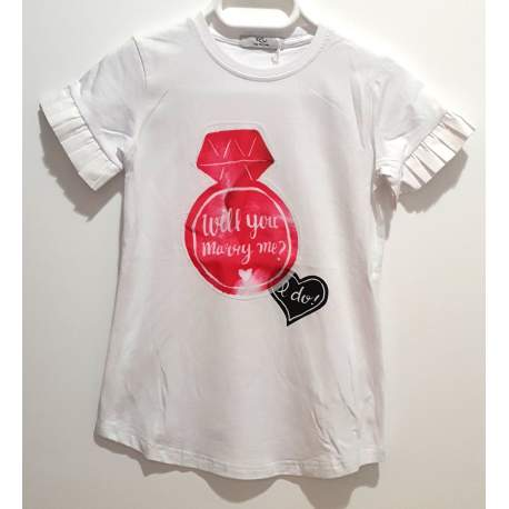 Y-clú T-shirt with ring
