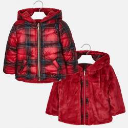 Mayoral red double-sided jacket