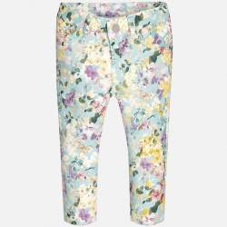 Mayoral trousers with flowers