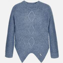 Mayoral blue knitted pullover