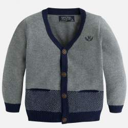 Mayoral blue-grey cardigan
