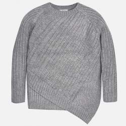 Mayoral grey knitted pullover