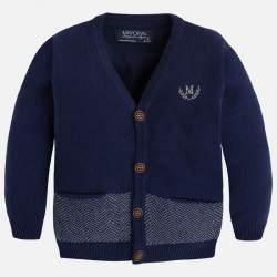 Mayoral blue cardigan