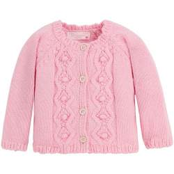 Mayoral pink cardigan