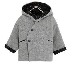 ZARA grey cloth coat