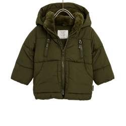 ZARA green winter jacket