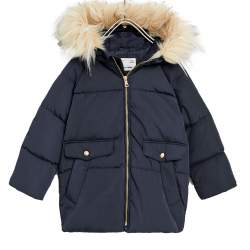 ZARA blue winter jacket