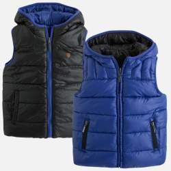 Mayoral/NukutavakeTwo-sided lemon-blue colors vest