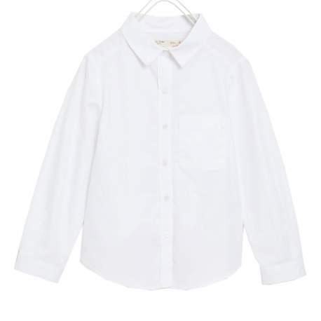 ZARA white long sleeve Shirt