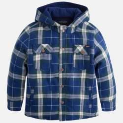 Mayoral lined checkered shirt