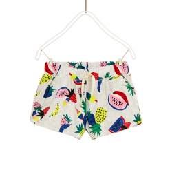 ZARA shorts with fruits