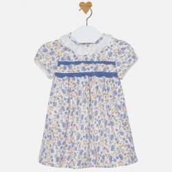 Mayoral dress with flowers