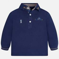 Mayoral long sleeved polo