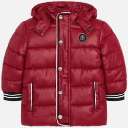 Mayoral velvet jacket with hoodie