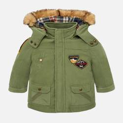 Mayoral thin green jacket