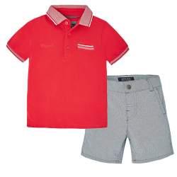 Mayoral piké T-shirt + shorts
