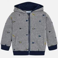 Mayoral cool hooded cardigan