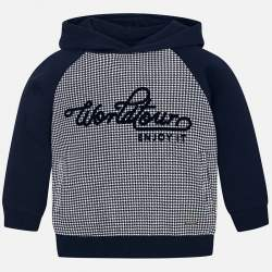 Mayoral pullover with hoodie