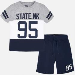 Mayoral/Nukutavake T-shirt + shorts