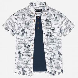 Mayoral/ Nukutavake Hawaii shirt