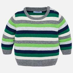Mayoral striped pullover