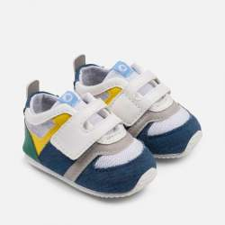 Mayoral grey-white BABY shoes