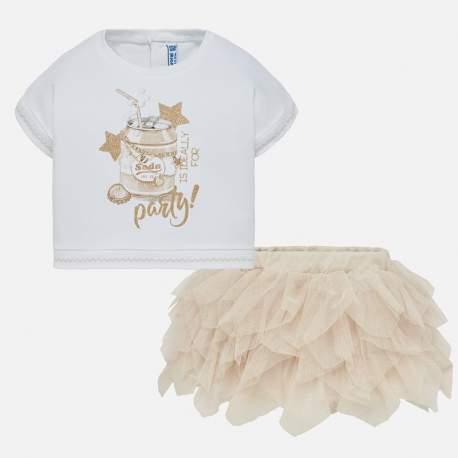 Mayoral set - pullover + skirt