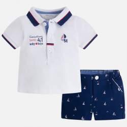 Mayoral  piké shirt + elegant short