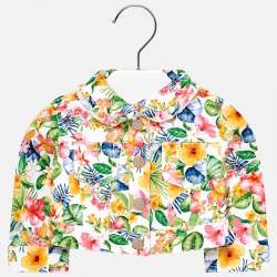 Mayoral jacket with flowers