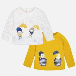 Mayoral long sleeve T-Shirt - 2 pieces