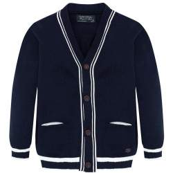 Mayoral blue knitted cardigan