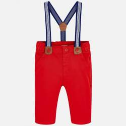Mayoral red trousers