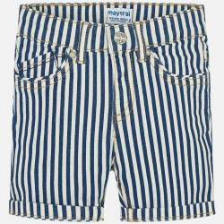 Mayoral blue striped shorts