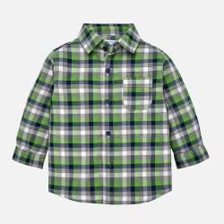 Mayoral black - white checkered shirt