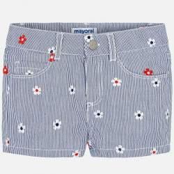Mayoral blue striped shorts