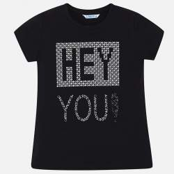 Mayoral T-shirt with rhinestone