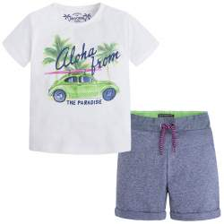 Mayoral T-shirt + shorts