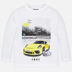 Mayoral long sleeve T-shirt - Posche Carrera 4