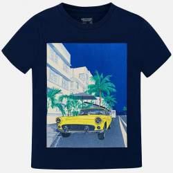 Mayoral/Nukutavake darkblue T-shirt