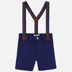 Mayoral red shorts with suspender