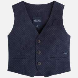 Mayoral blue elegant vest