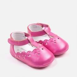 Mayoral fuchsia baby shoes