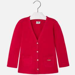 Mayoral red cardigan