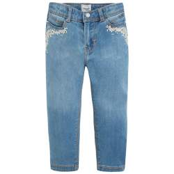 Mayoral embroidered jeans