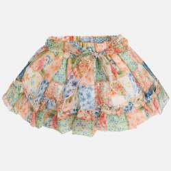 Mayoral skirt with flowers
