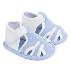 Mayoral blue baby shoes