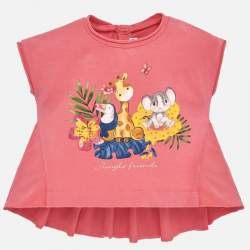Mayoral pin T-shirt with animals