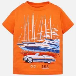 Mayoral T-shirt with sailing boats